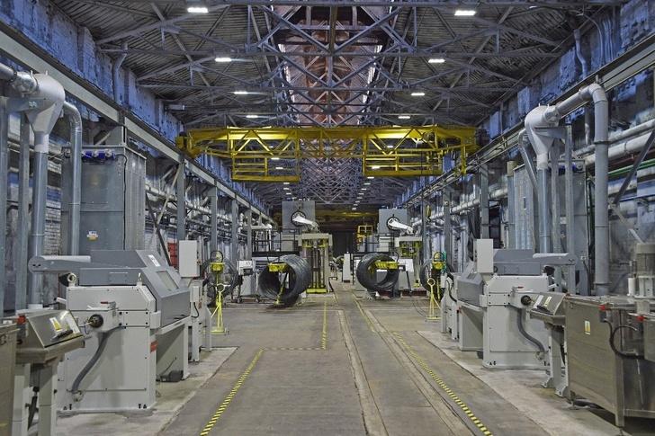 БМК ввёл в эксплуатацию первую очередь нового волочильного оборудования
