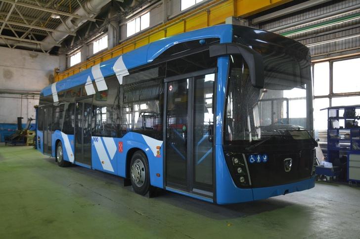 «КАМАЗ» выпустил троллейбус с увеличенным автономным ходом