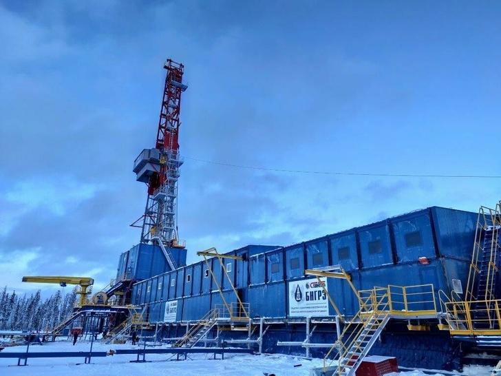 На месторождении в Красноярском крае запущена новая отечественная буровая установка