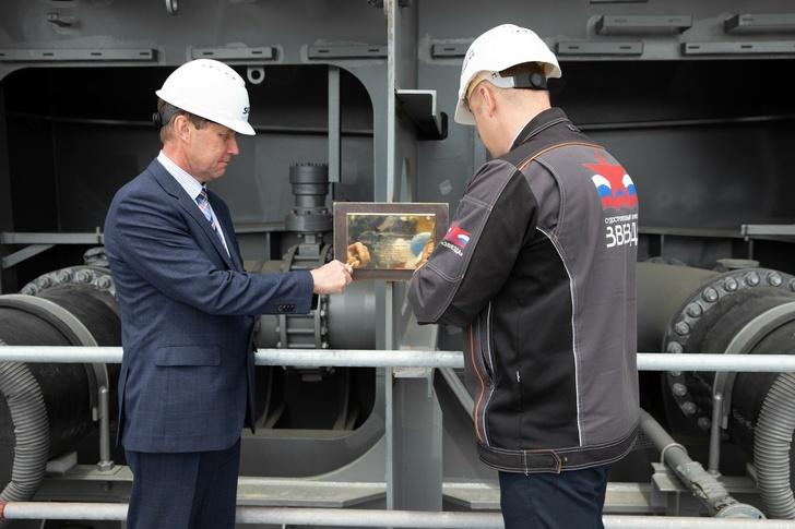На ССК «Звезда» заложен киль пилотного газовоза «Совкомфлота» для «Арктик СПГ 2»