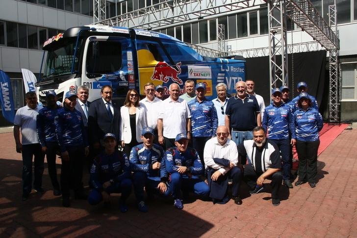 «КАМАЗ-мастер» представил спортивный грузовик поколения К5