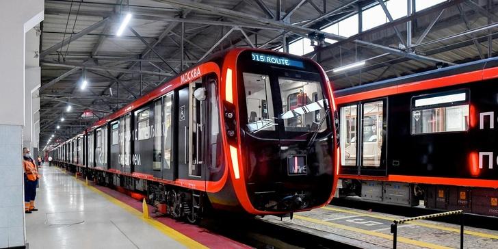 Обновление поездов на Кольцевой линии Московского метрополитена завершено
