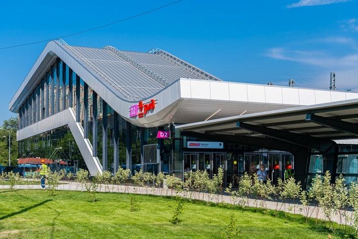 На втором Московском центральном диаметре (МЦД-2) начала работать станция Щукинская