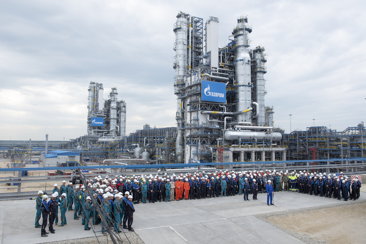 В Амурской области запущена первая технологическая линия Амурского газоперерабатывающего завода