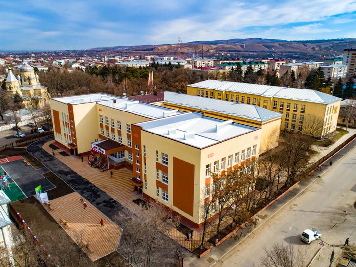 В Карачаево-Черкесии в городе Усть-Джегута открыт новый корпус лицея №1
