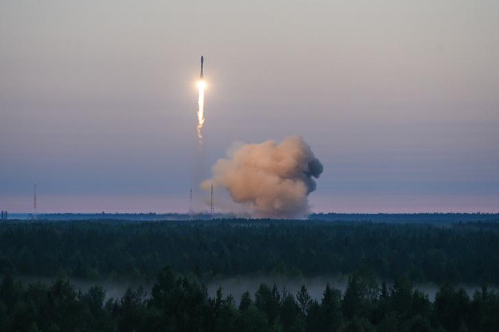 Ракета-носитель «Союз-2.1б» с космодрома Плесецк вывела новый спутник Минобороны на расчетную орбиту