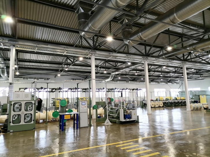 В городе Углич Ярославской области открыт новый цех кабельного производства «Угличкабель»