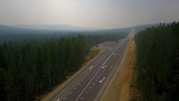 В Якутии на федеральной трассе А-360 досрочно ликвидировали 25 км гравийно-щебеночных разрывов