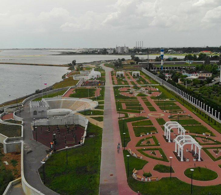 Благоустройство страны. От Крыма до Владивостока