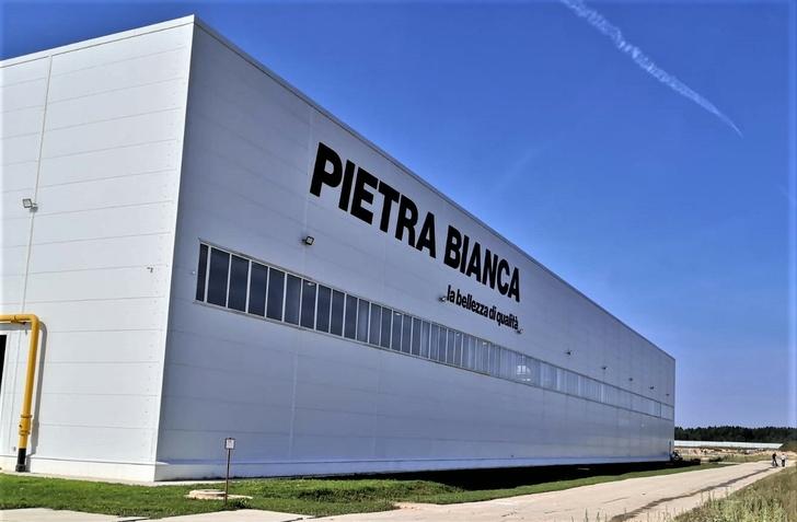 В Тверской области открыт завод «Белый камень» по обработке мрамора, травертина и известняка