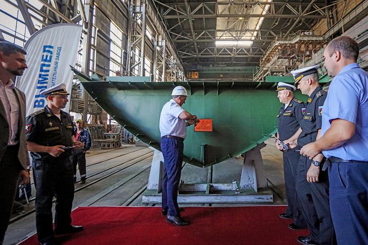 ССЗ «Вымпел» заложил очередной противодиверсионный катер «Грачонок»