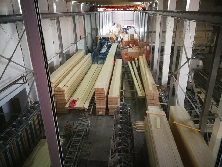 В Кировской области запустили новое производство клеёной балки для домостроения