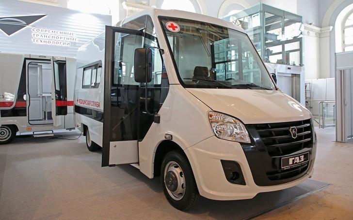 Автозавод ГАЗ представил линейку автомобилей для вакцинации